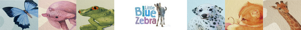 Little Blue Zebra.com - Coming Soon - Prints frame or unframed - Beautiful Animal Children Prints