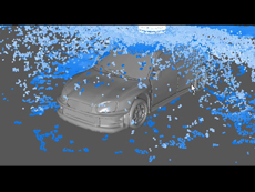 Realflow Effects Test With the Subaru Model