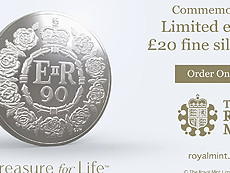 The Queens 90th Birthday Commemorative Coin