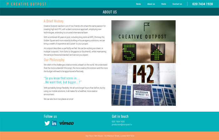 Creative Outpost Website