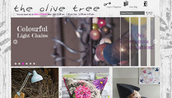 Olive and the Fox - Ecommerce Website